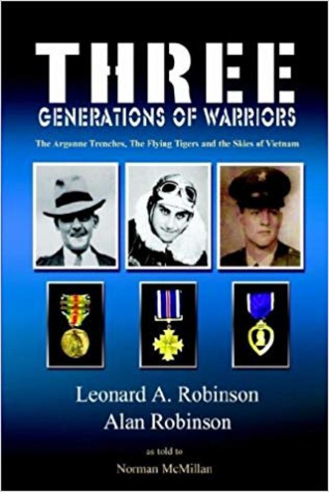 羅賓森將軍所撰的《三代勇士》。(亞馬遜網站)
