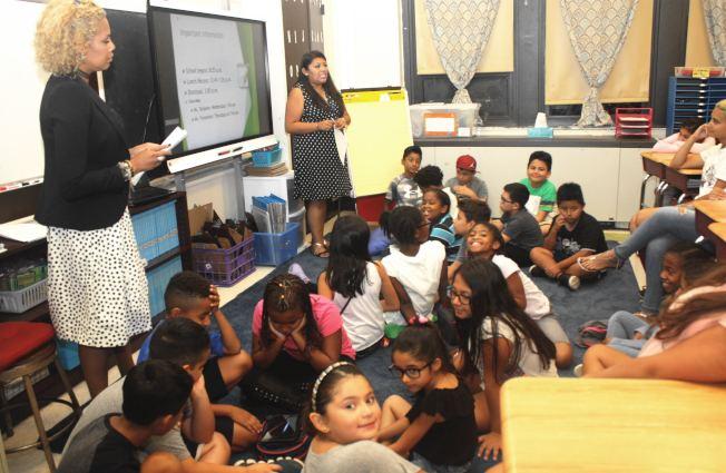 新州開學迎來多項變革,圖為安歌塢公校課堂。(取自公校網站)