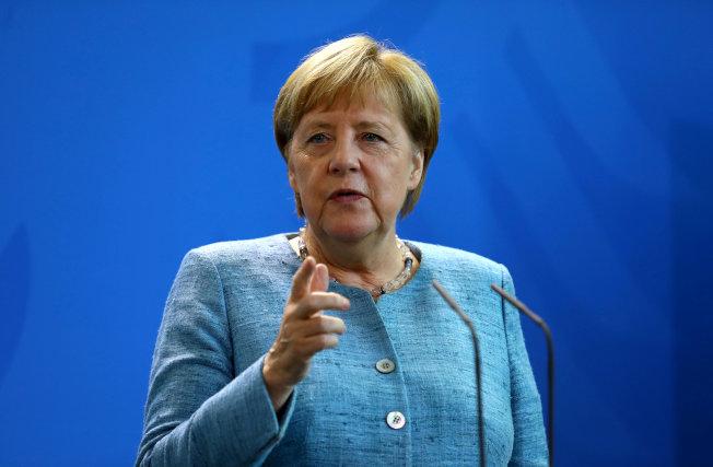 德國總理梅克爾(Angela Merkel)。路透