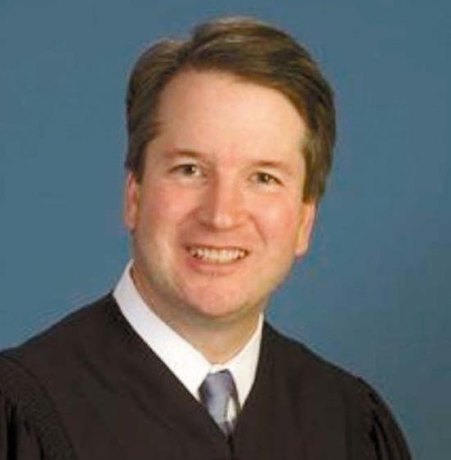 美國總統川普提名的最高法院大法官候選人卡瓦諾 。(取材自卡瓦諾官網)