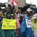 反廢SHSAT 亞裔群體再示威