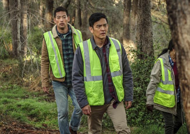 美國影視圈把8月的北美電影市場稱為「亞洲的八月」,圖為知名韓裔男星趙約翰同樣在8月上映的尋親驚悚片Searching。(美聯社)