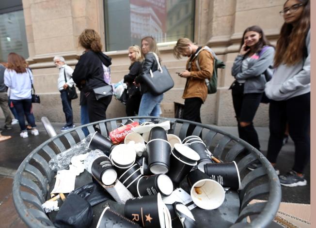 聽到「星巴克」,有義大利人認為是沒味道、用塑膠杯或紙杯裝的摻水美國咖啡。 歐新社