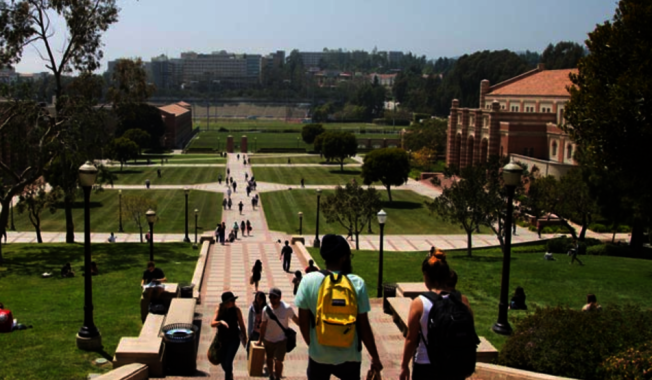 UCLA是唯一挤进前20名的公立大学。(UCLA网站)