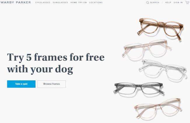 Warby Parker這個網路原生的眼鏡品牌現在在全美各個城市經營著數十家商店。(官網截圖)