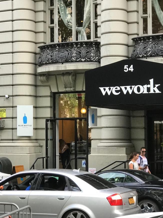 WeWork在全球87個城市擁有453個辦事處,估值達200億元。(記者張大仁/攝影)