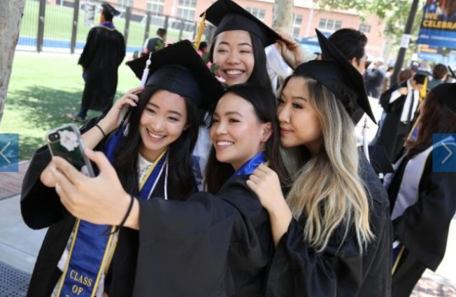 排名公立大學第一的UCLA今年的畢業典禮。(取自UCLA官網)