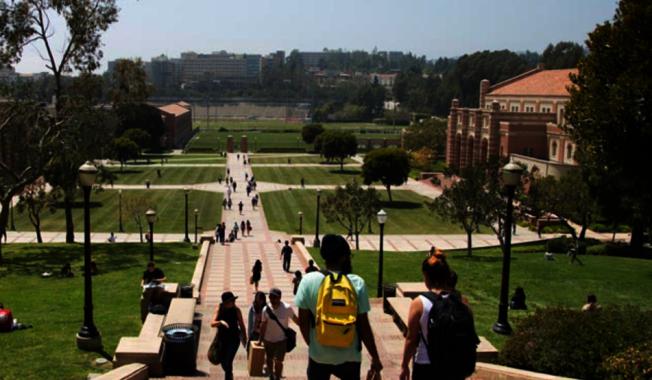 UCLA是唯一擠進前20名的公立大學。(UCLA網站)