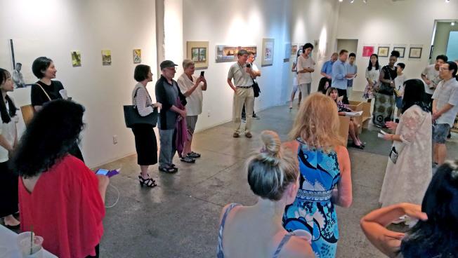 來自中國、義大利和美國的十位中國藝術家,用作品展現旅居他鄉的生活狀態。(主辦方提供)