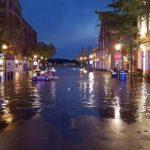 颶風尚未登陸 大華府已多處淹水