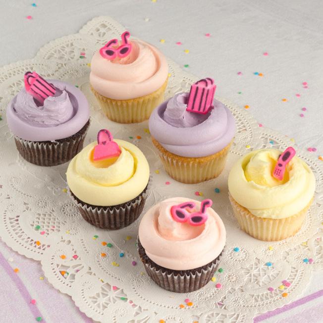 來自紐約的網紅烘焙店Magnolia Bakery將在聯合車站新開華府首家店,該店的創意杯子蛋糕有「最好吃杯子蛋糕」之稱。(Magnolia Bakery提供)