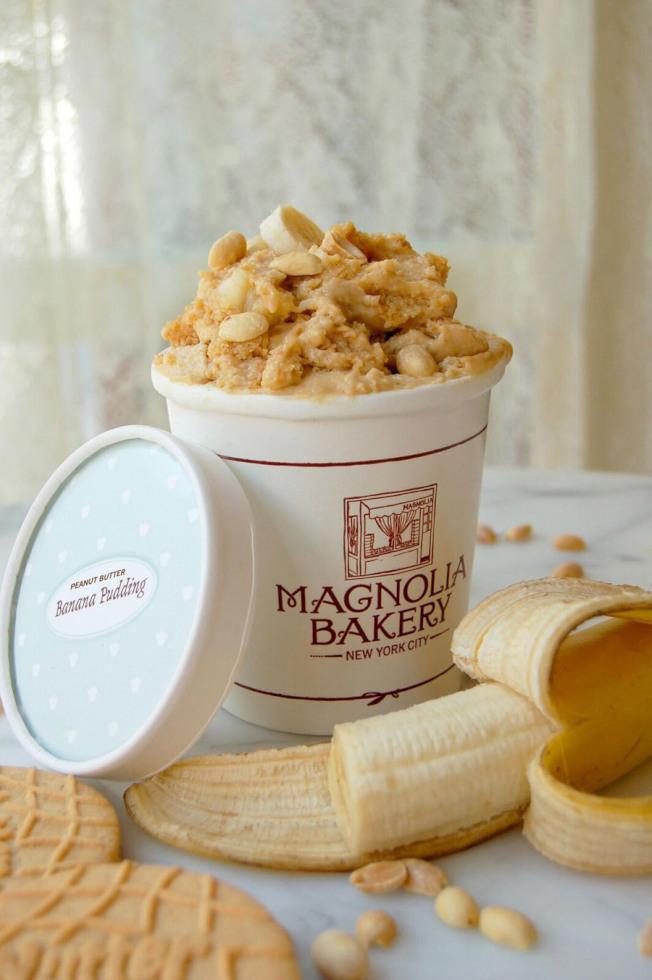來自紐約的網紅烘焙店Magnolia Bakery將在聯合車站新開華府首家店,該店香蕉布丁廣受歡迎。(Magnolia Bakery提供)