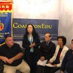 紐約同源會、教育聯盟 挺艾維樂連任