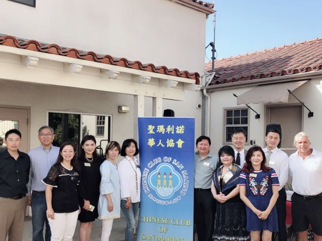 聖瑪利諾市華人協會每年一度於9月11日舉辦早餐會感謝警消人員。(聖瑪利諾市華人協會提供)