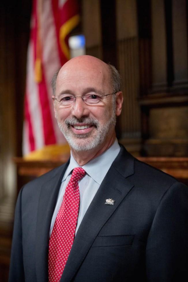 賓州州長沃爾夫尋求連任。(取自政府網站)