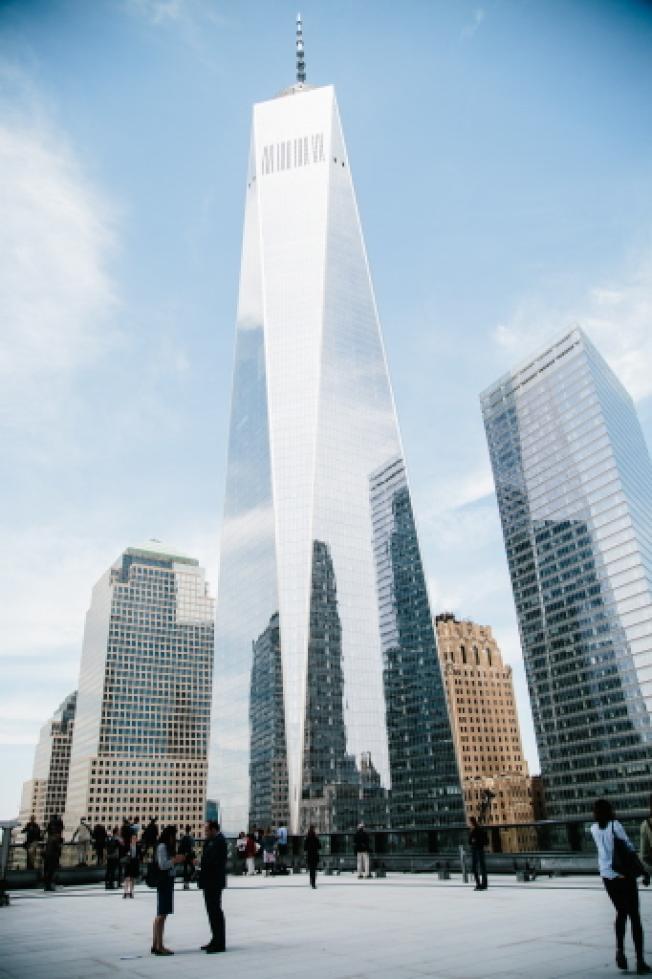 重建的世貿中心一號,比其他塔樓更難出租其310萬平方呎辦公空間,當中大約20%在啟用四年後仍空置。(歐新社)