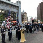 「因恐襲投身軍警」 華裔退伍軍人會 華埠紀念九一一