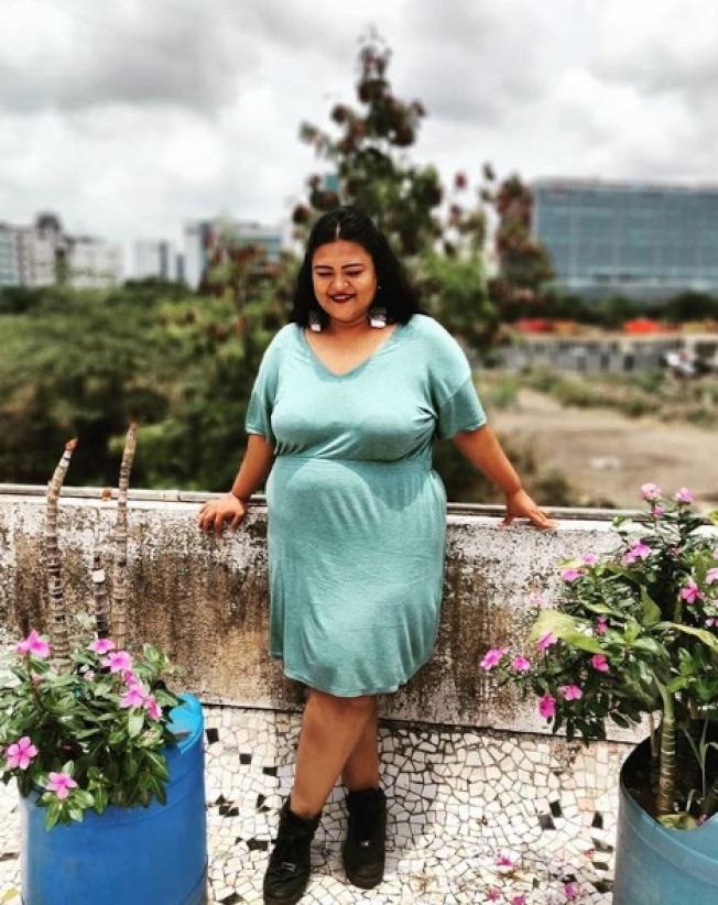 印度廣告專家安妮麗塔‧羅伊認為,民眾日益接受大尺寸時尚,但對胖子卻未必如此。(取材自Instagram)