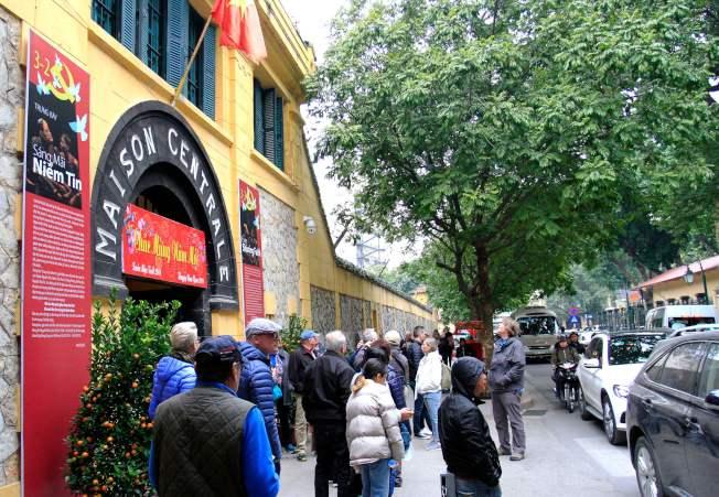 越南「火爐監獄」當年號稱「河內希爾頓」。(Getty Images)