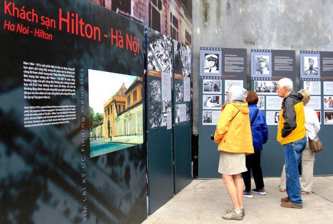 馬侃被關的戰俘營,當年號稱「河內希爾頓」。(Getty Images)