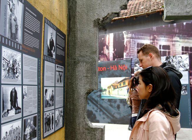 馬侃是河內最著名的戰俘,也是遊客關注焦點。(Getty Images)
