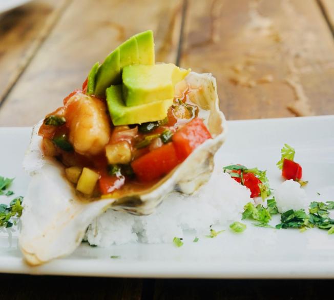 Chiapas牡蠣。(記者陳開/攝影)