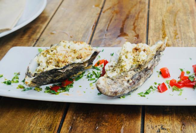 Peplos牡蠣。(記者陳開/攝影)