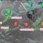 北半球出現九個風暴  暖化對風暴有何影響?