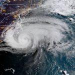颶風佛羅倫斯逼近北卡沿岸