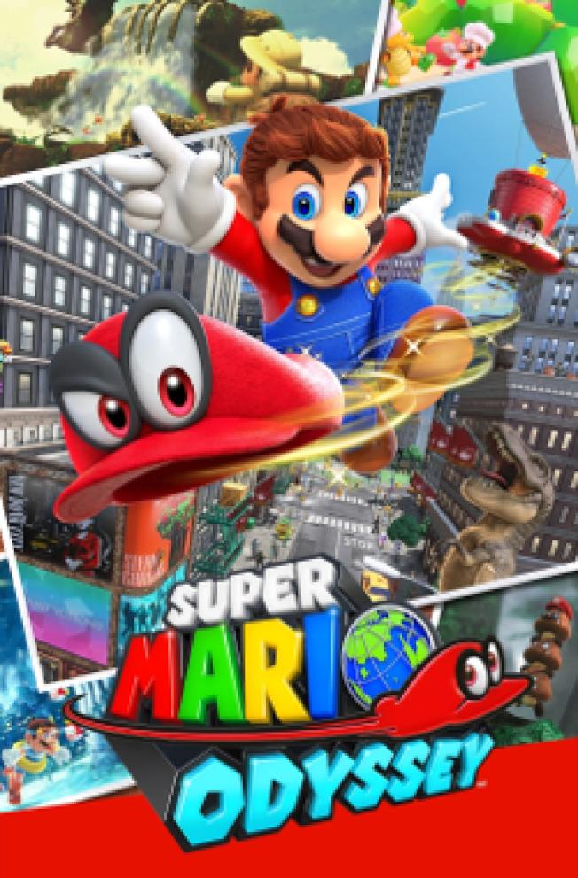 2017年為配合暢銷的任天堂Switch推出「超級馬里奧奧德賽(Super Mario Odyssey)」。(維基百科)