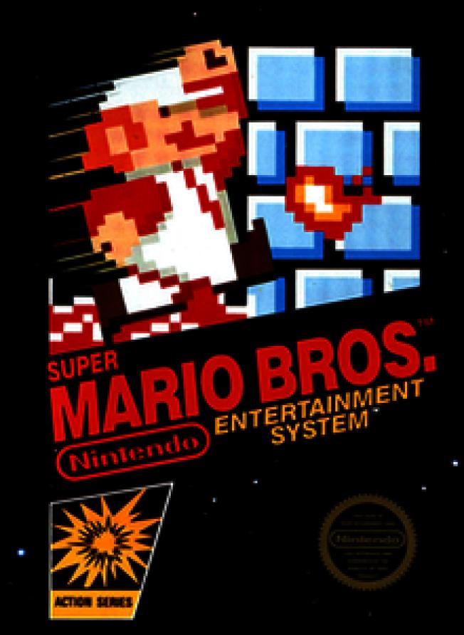 這款1985年9月13日在日本發表的「超級瑪利歐兄弟(Super Mario Bros.)」最終累計銷售超過4000萬套。(維基百科)