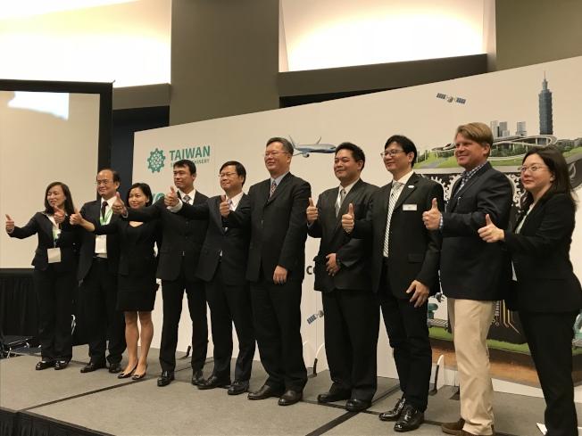 128家台灣企業參加IMTS展。(記者董宇/攝影)