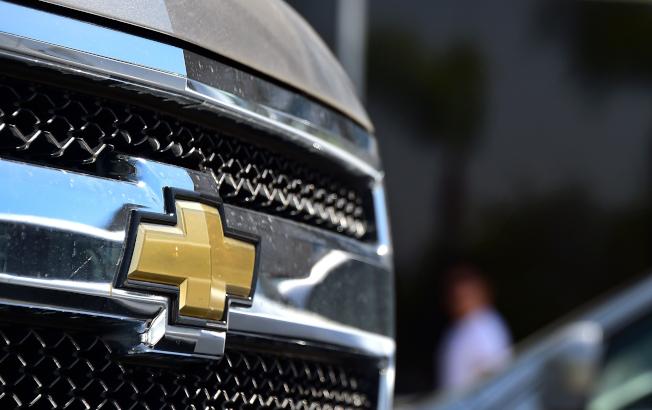 通用汽車以動力方向系統出問題為由,召回100萬輛小卡車和多功能車,其中包括雪佛蘭的四個車型。(Getty Images)