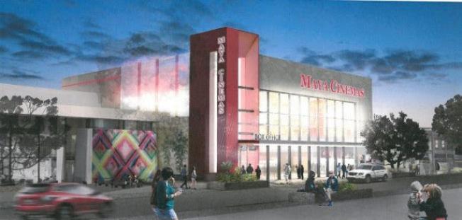 新影劇院效果圖。(市府提供)