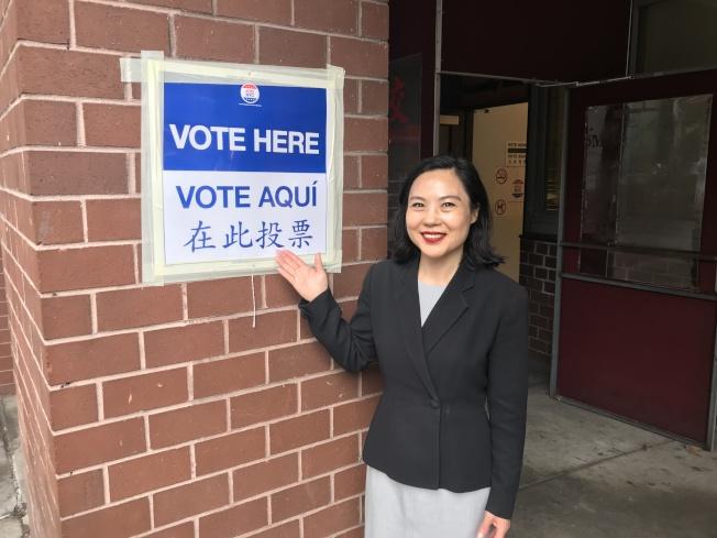 華人律師李昌永呼籲華人積極投票,參與到社區服務中來。(記者和釗宇/紐約報導)