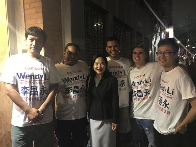 李昌永表示,這次勝選離不開義工和華人社團的支持。(記者和釗宇/攝影)