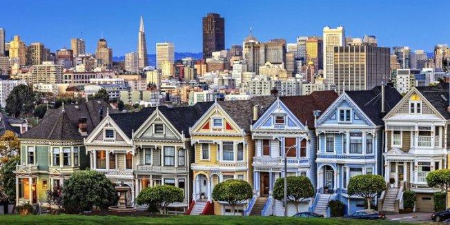 房地產網站Trulia的研究發現,舊金山的房價,2012年以來漲了一倍(101%)。(Getty Images)