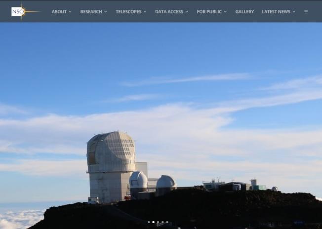 美國新墨西哥州森史波特區美國國家太陽天文台6日突因安全因素關閉至今,引發諸多討論。取材自美國國家太陽天文台官網