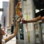 吸睛!紐約吸睛!首推霜淇淋販賣機