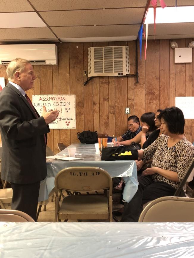 寇頓與家長們成立「南布碌崙質量教育聯盟」,反對廢除SHSAT。(寇頓辦公室提供)