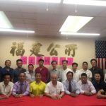 劉醇逸勝選 訪紐約華人社區謝票