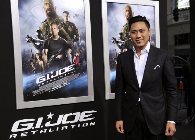 電影「瘋狂亞洲富豪」導演朱浩偉曾執導多部好萊塢商業大片,包括2013年的「特種部隊2:正面對決」(GI Joe: Retaliation)。(美聯社)