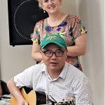 台灣媳婦歐陽姍 愛歌唱中文超溜