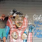 裸露塗鴉歧視味濃 曼哈頓華埠民眾籲警調查