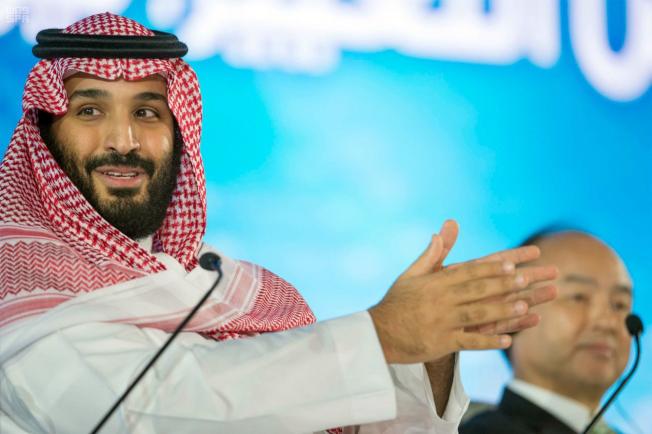 沙烏地阿拉伯王儲本.薩爾曼多次談到要用該國主權基金多元化投資。(美聯社)