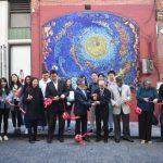 龍舟追月中秋主題壁畫 華埠揭幕