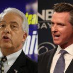 加州州長候選人紐森、考克斯 10月8日廣播辯論