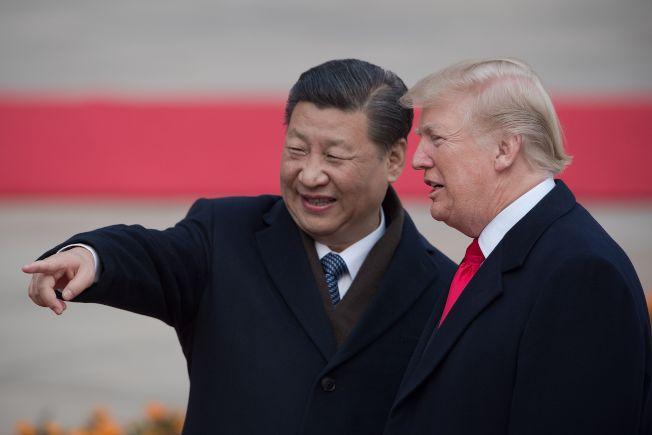 美中貿易戰自7月6日開打,越演越烈。川普總統18日表示希望能與習近平主席對話。(Getty Images)