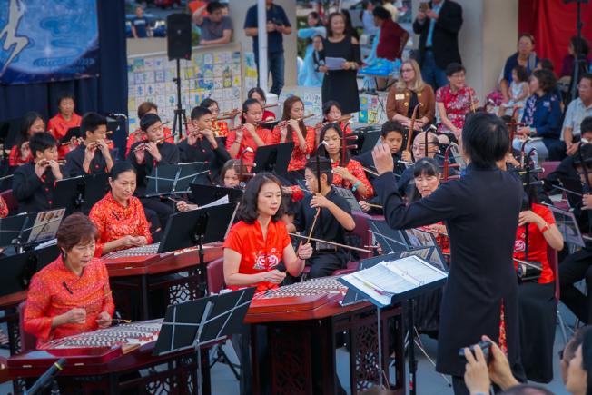 國樂團表演。(南海岸中華文化協會提供)