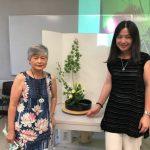 哥倫比亞中文學校 日本插花講座現場示範